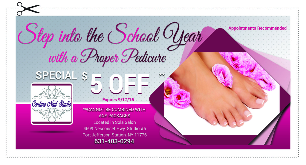 Pedicure coupons