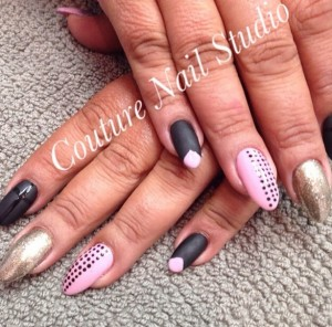 pretty-in-pink-purple-black-nail-art